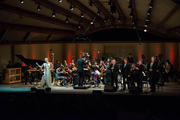 2014 Ojai Music Festival - The Knights, Storm Large and Hudson Shad