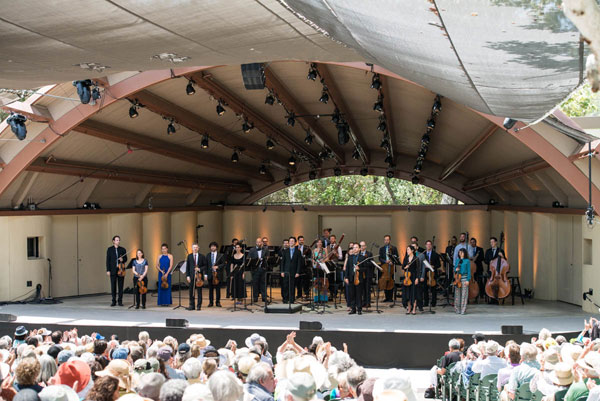 "2014 Ojai Music Festival - ""Jupiter"" Symphony and ""Canonade"""