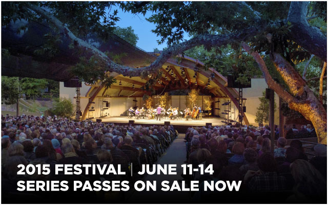2015 Festival, June 11-14, Series passes on sale now